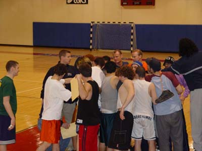 Huddle up